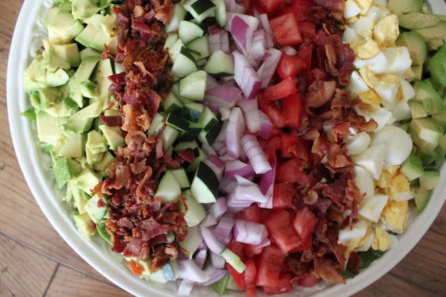 Bountiful Kitchen: Cobb Salad with Creamy French Dressing