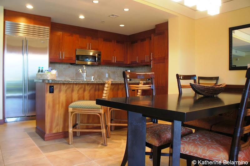 Marriott's Kauai Lagoons Kitchen and Dining Room Hawaii