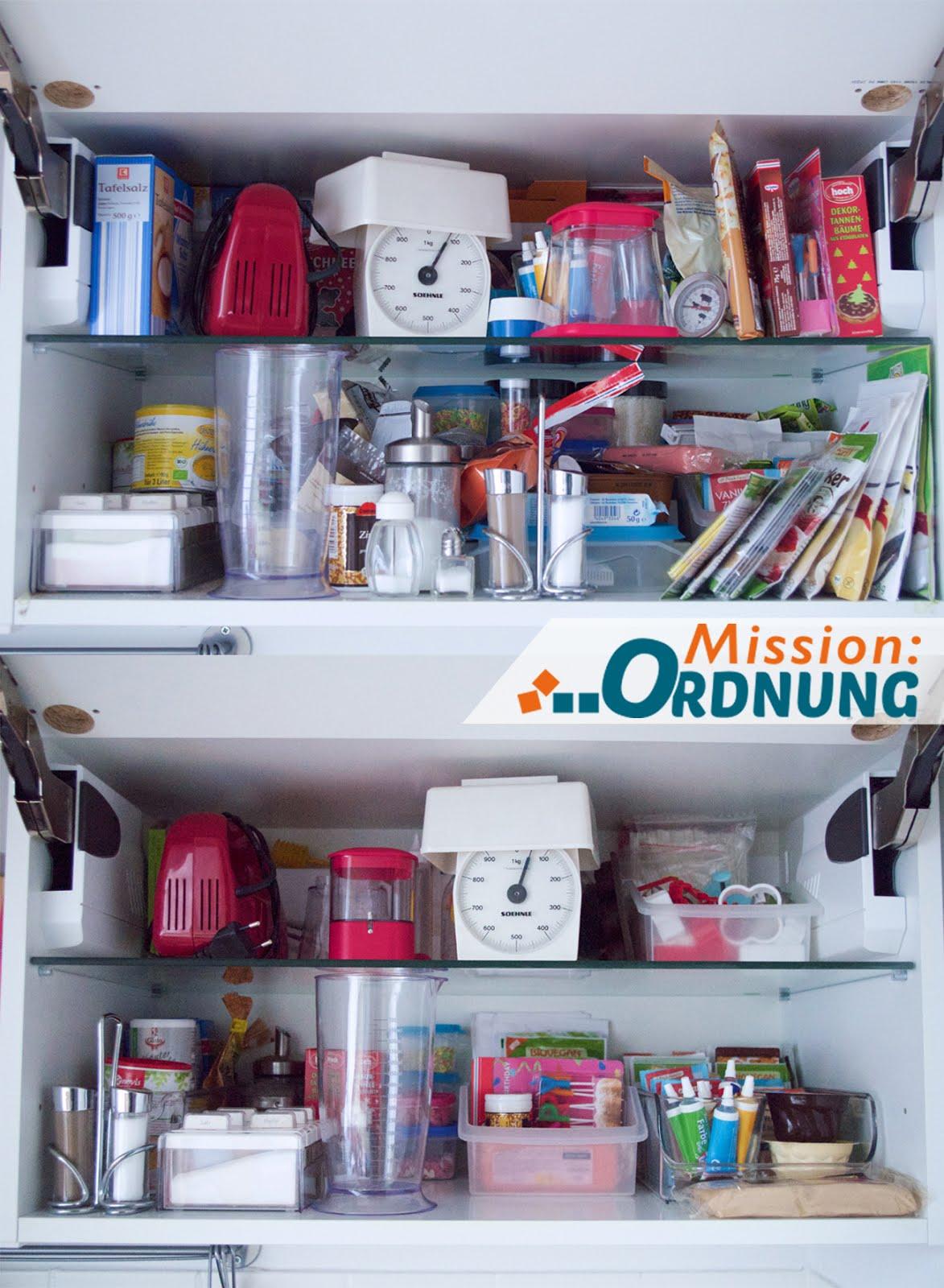 Ordnung In Der Küche mission ordnung ordnung in der küche back und gewürzschrank