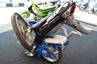 Modifikasi Motor Honda Karisma Lipat