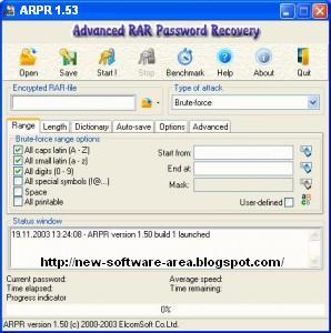 advanced rar password recovery 4.53 full crack