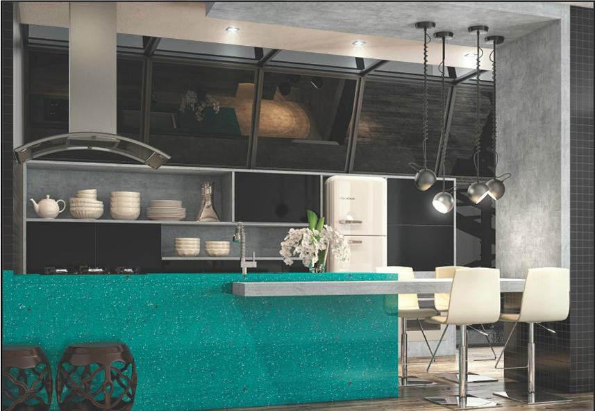 cozinha planejada dimare em alto padrão