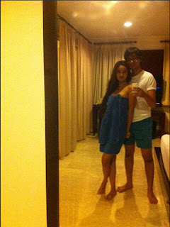 Foto Bugil Faby Marcelia di kamar hotel
