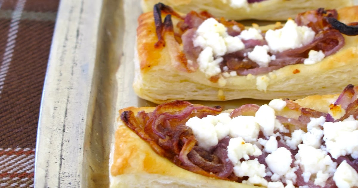 Jenny Steffens Hobick: Caramelized Onion and Goat Cheese Tartlets