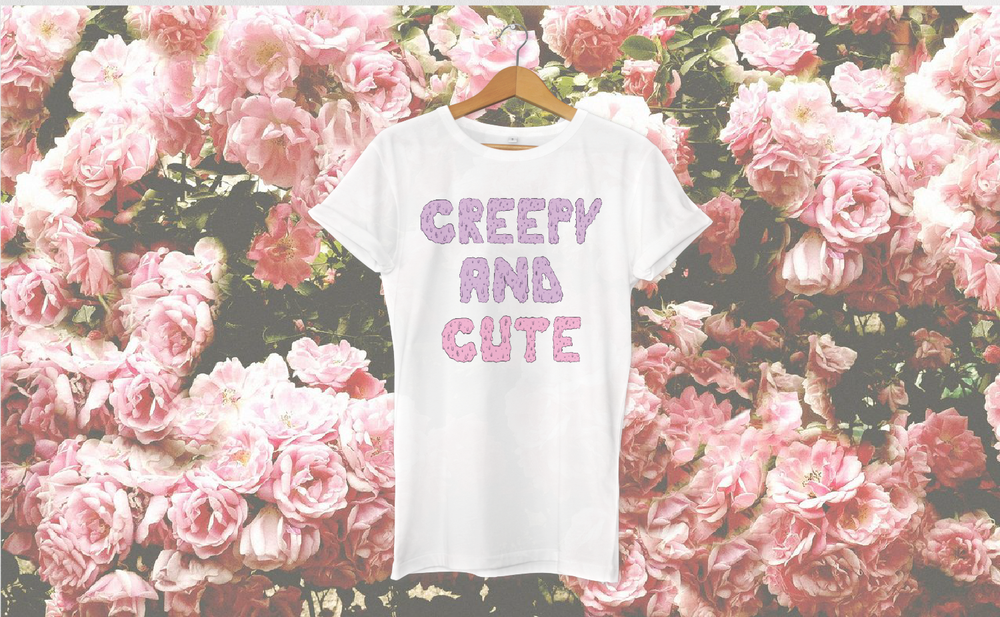 Creepy and cute Bark tshirt