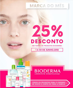 Marca do Mês de Junho BIODERMA -25% em TODOS os produtos