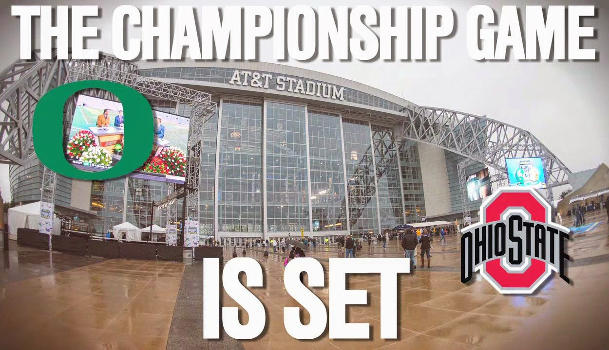 National Championship: Oregon vs. Ohio State