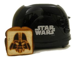 Star Wars Darth Vader toaster