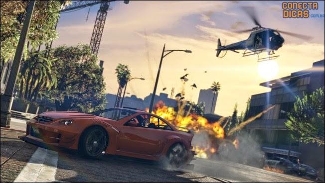 Heists GTA V - Carro, Helicoptero e explosões