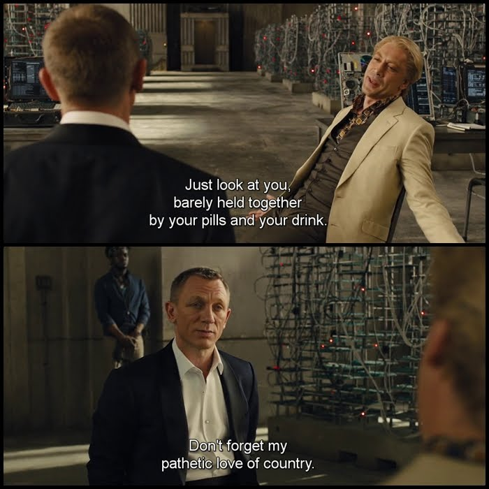 Bond Quotes Gorgeous Escape Matter Bond Movie Quotes