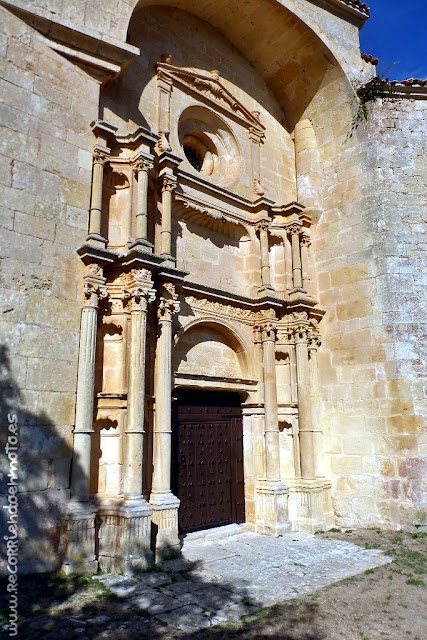 Portada s. XVII Iglesia de Sedano