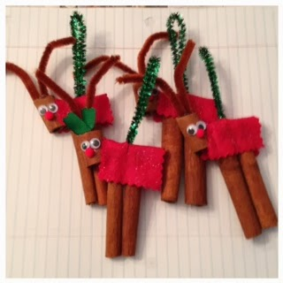 how to make cinnamon stick reindeer
