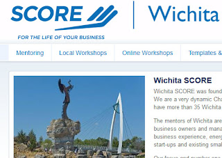 Screenshot: SCORE Wichita / Small Business Help