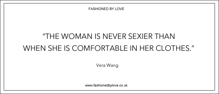 via fashioned by love | best fashion & style quotes | Vera Wang