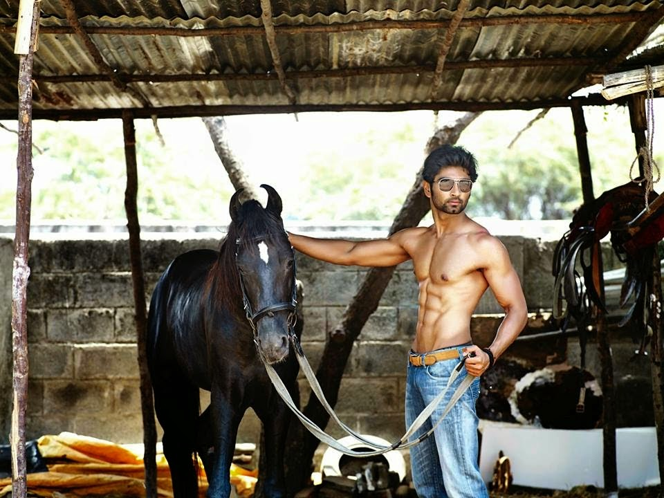 Atharvaa Murali Latest Six Pack Photos