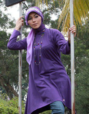 Model Baju Blus Muslim Zenitha