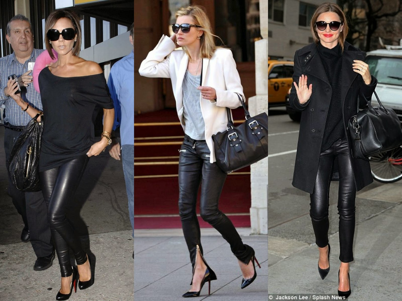 Your Guide To Wearing Leather Pants Like a Fashion Editor