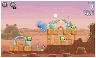 Review: Angry Bird Star Wars android games