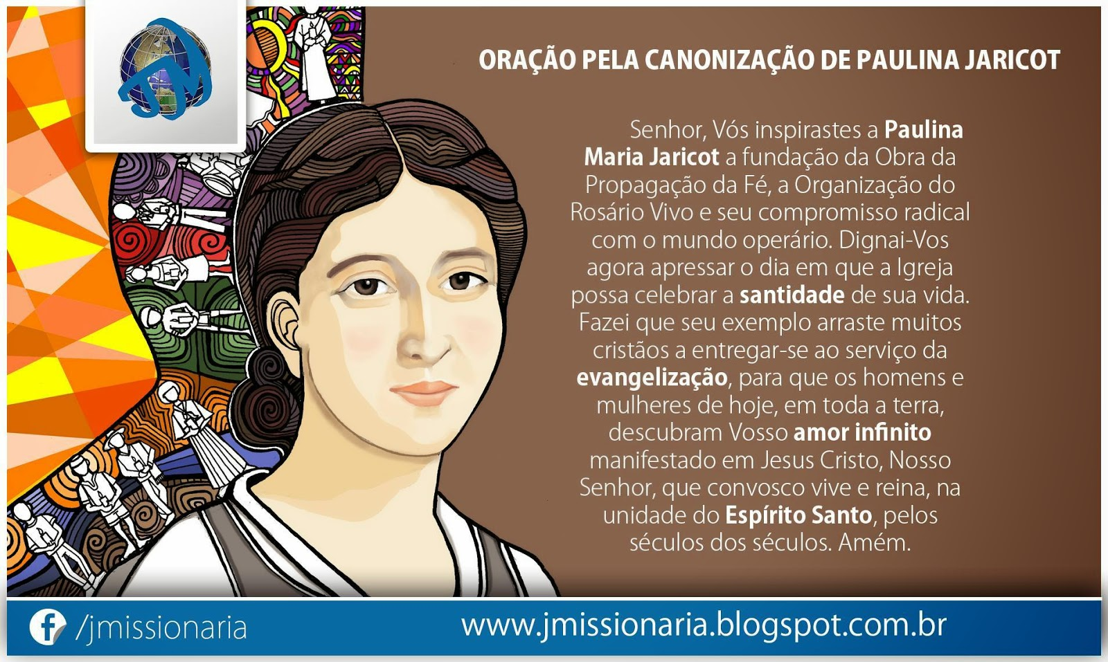 Oração pela canonização de Paulina Jaricot