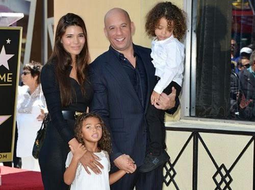 Vin Diesel Adalah Bapa kepada tiga orang anak