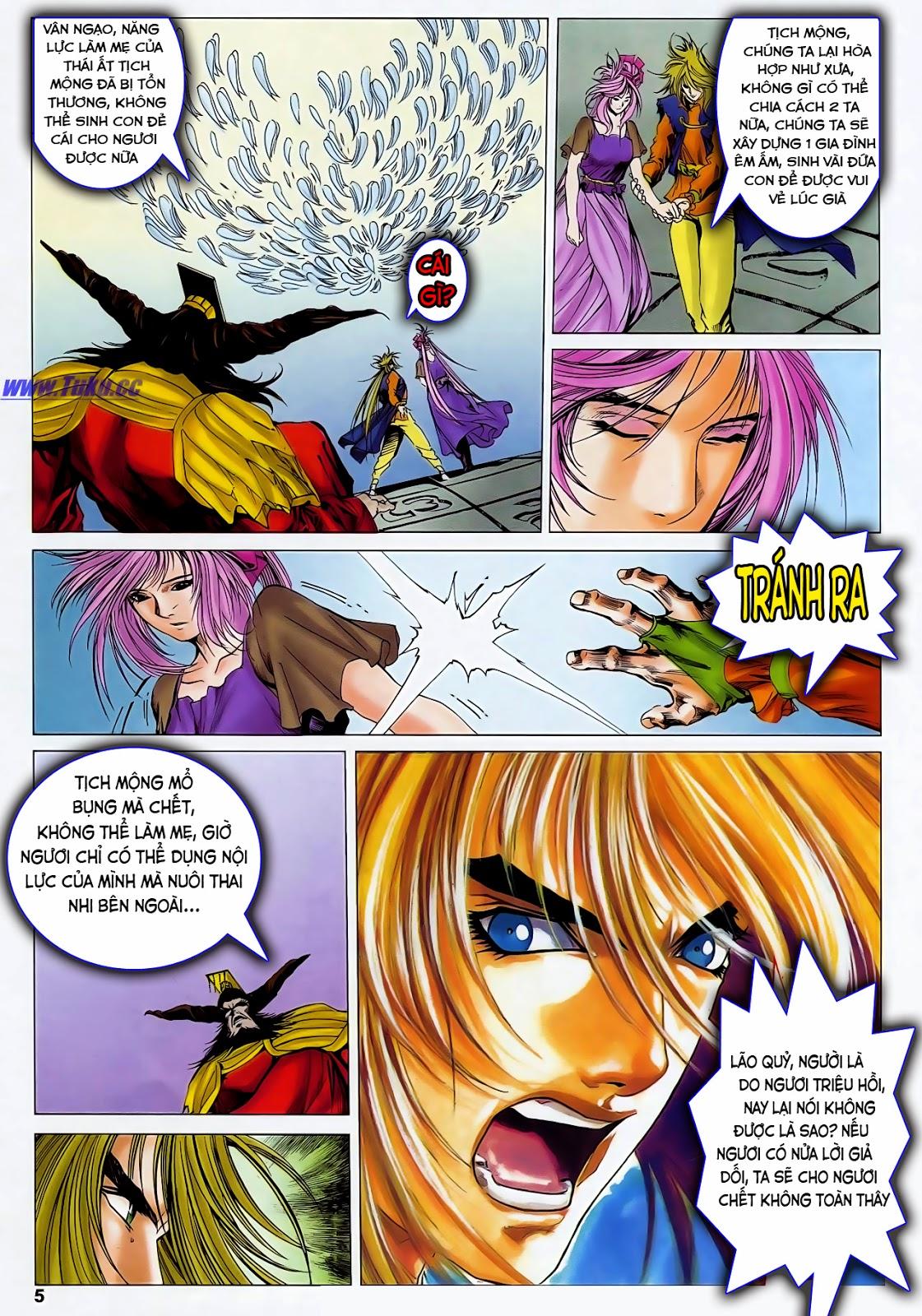 Lục Đạo Thiên Thư chap 47 - Trang 7