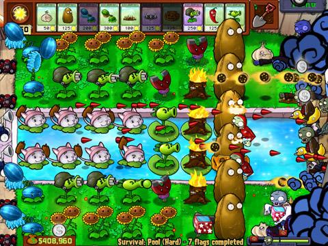 Campo de pensamientos plants vs zombie for Jardin zen plantas vs zombies