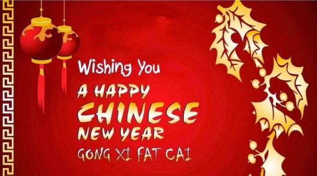 Kumpulan Kata Ucapan Selamat Imlek 2015 Gong Xi Fa Cai dalam Bahasa Mandarin