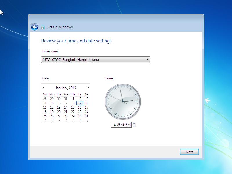 Cara Install Windows 7 (Lengkap Dengan Gambar) 13