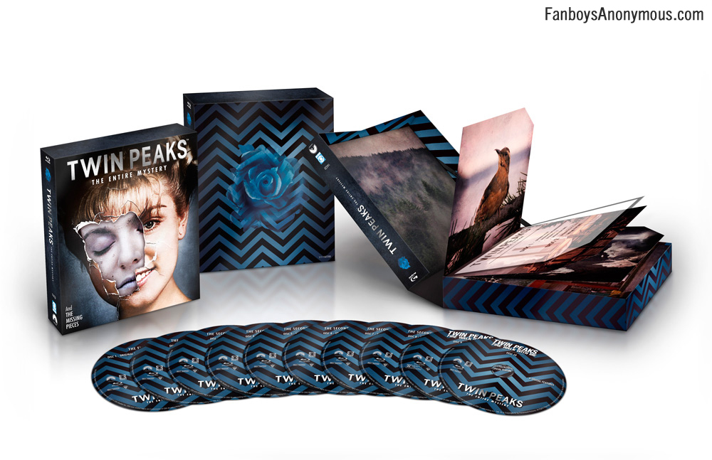 Missing pieces from Twin Peaks: Fire Walk With Me are included in this new Blu-Ray set. Check in with Laura Palmer, Agent Cooper, and the Log Lady to find out what Bob's been up to!