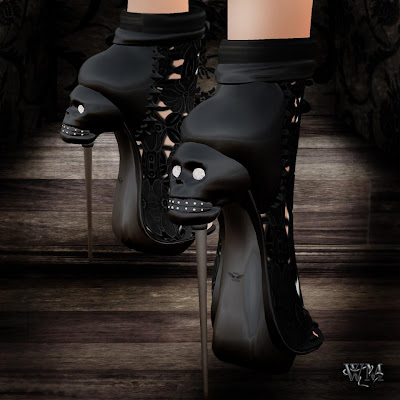 Scary Shoes, Ugly Shoes, Crazy Shoes, Second Life Shoes