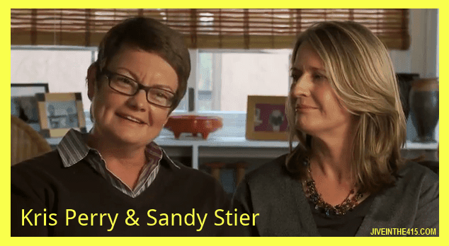 Lesbian moms Kris Perry and Sandy Stier jiveinthe415.com