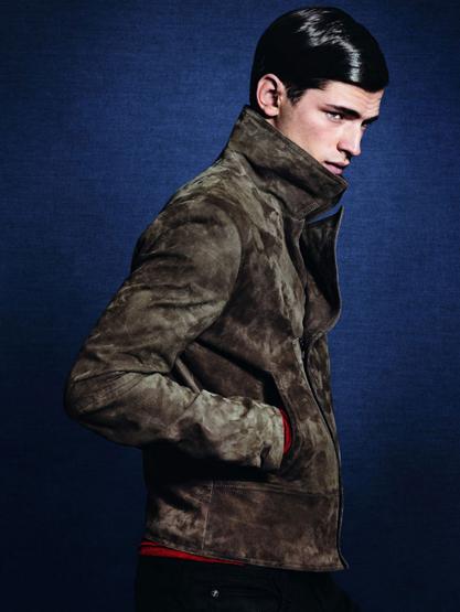 cazadoras hombre Zara otoño invierno 2011 2012