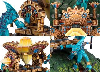 Warhammer Lizardmen Bastiladon