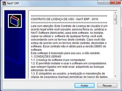 NeXT ERP Atualização v159