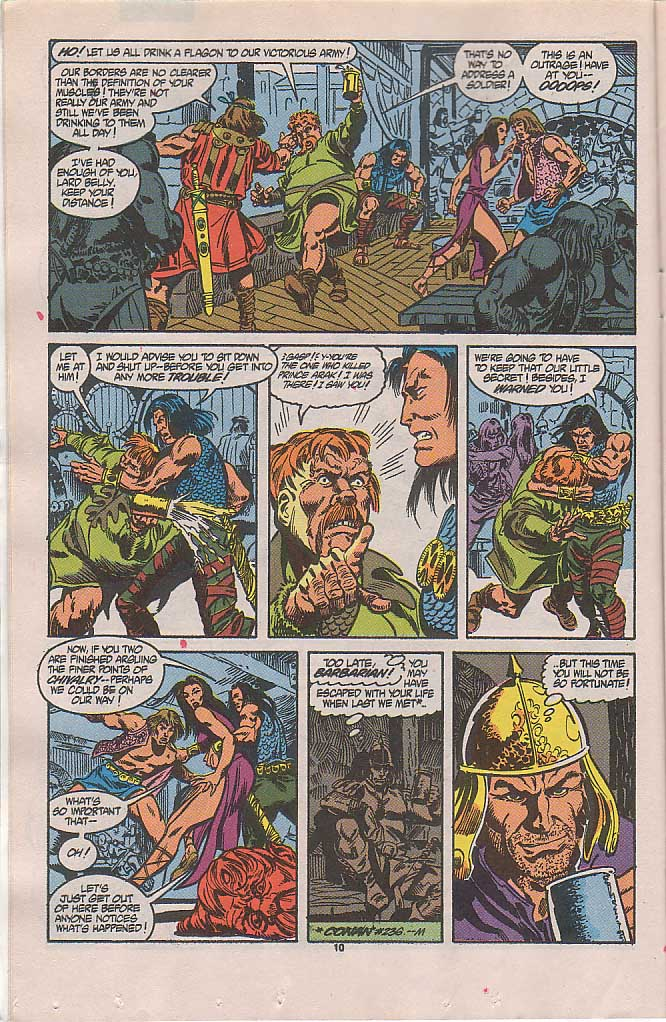 Conan the Barbarian (1970) Issue #238 #250 - English 9