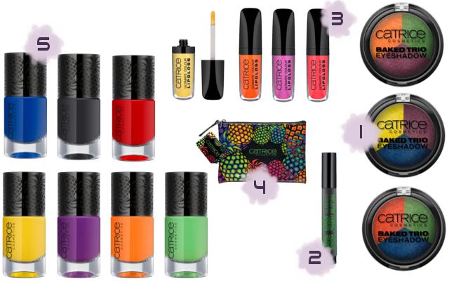 Catrice Carnival Of Colours - limitierte Kollektion (LE) - Juni 2014