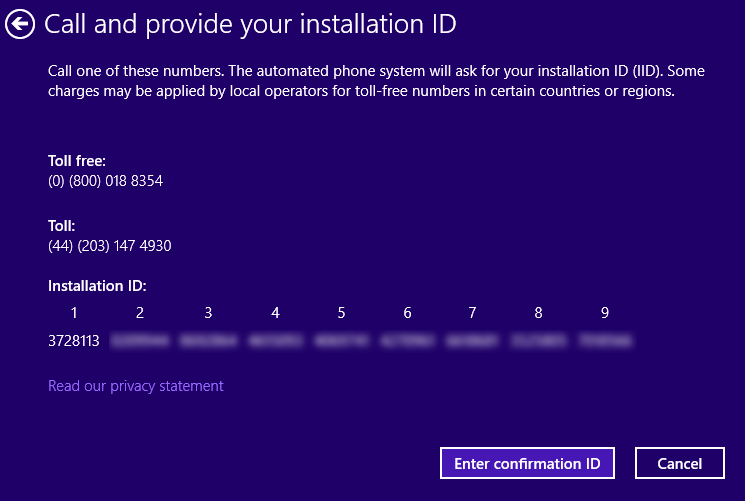 Ganti Installation ID Windows