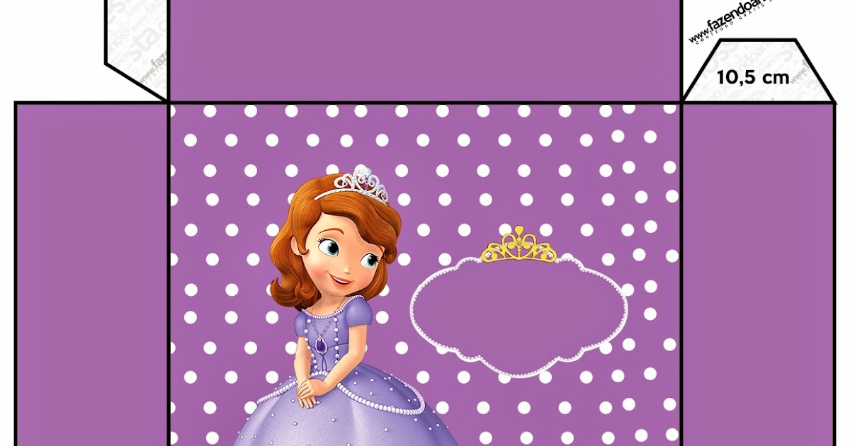 Sofia the First: Free Printable Boxes. | Is it for PARTIES ...