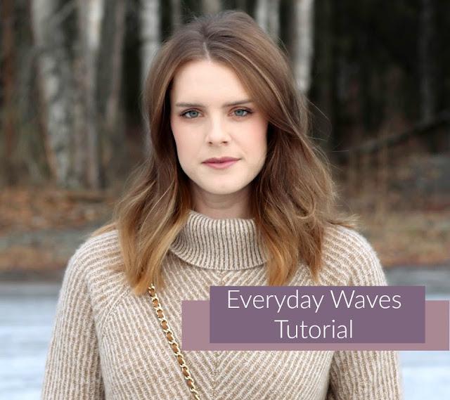 Everyday Waves Hair Tutorial