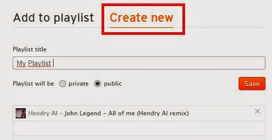 Cara membuat playlist lagu di soundcloud