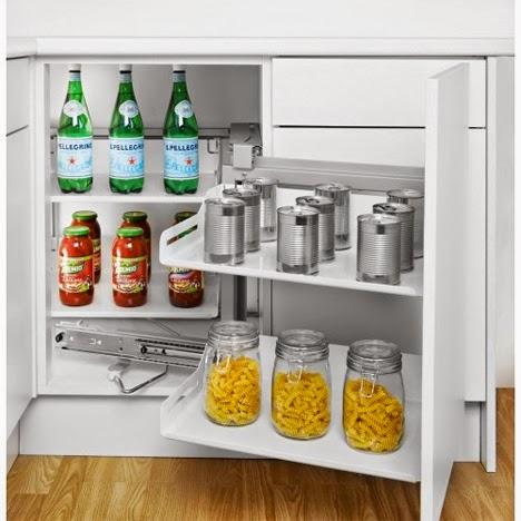 Gambar Desain Rak dan Lemari Dapur Model Gantung Minimalis  1