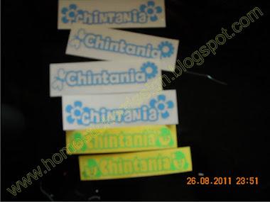 Contoh untuk sticker Nama (bahan anti air)