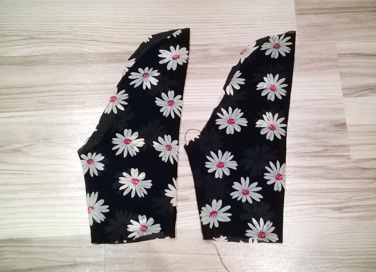 Как сшить блузку со сборкой фото 113