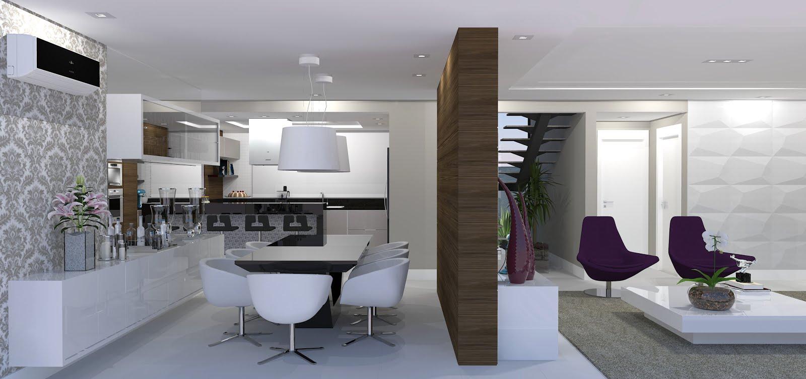 Due arquitetura projeto de interiores casa gt for Interiores de apartamentos