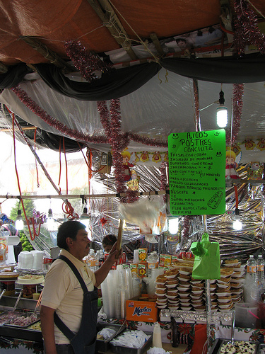 Mercado Jamaica (Mexico City): A typical naco haunt