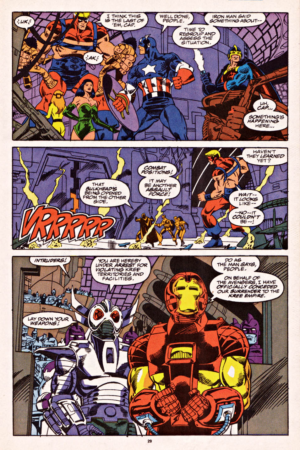 Captain America (1968) Issue #398f #336 - English 22