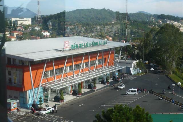 Bus station of Da Lat