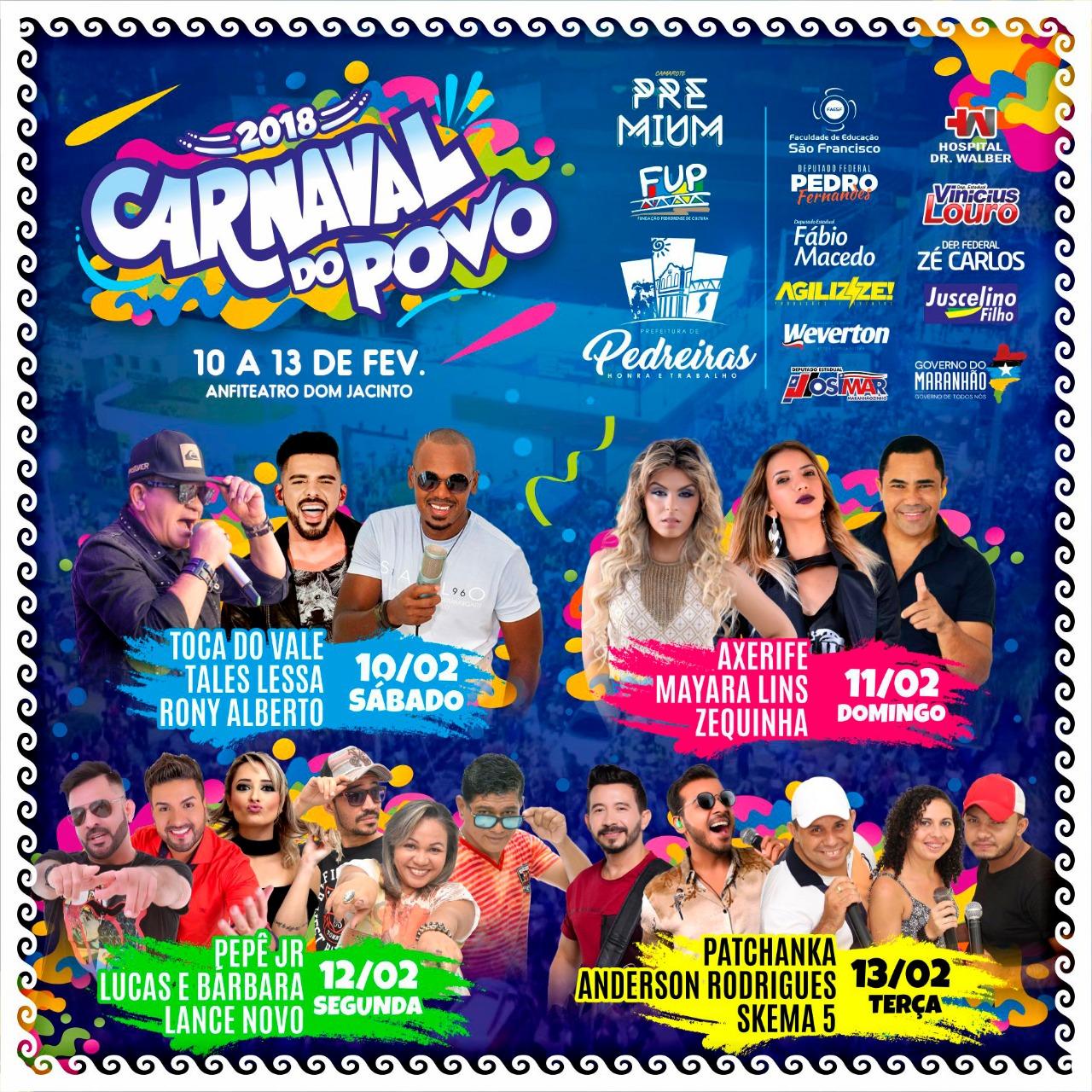 CARNAVAL DO POVO 2018