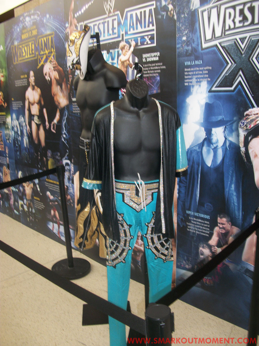 WrestleMania Axxess Y2J Costume