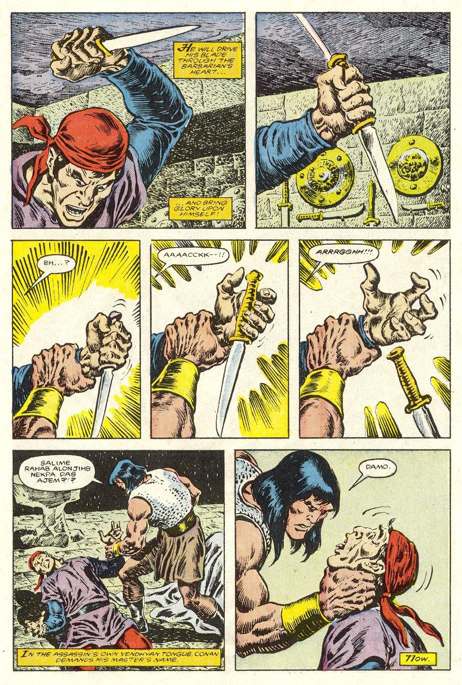 Conan the Barbarian (1970) Issue #187 #199 - English 20